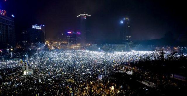 مسيرة الأحد في بوخاريست