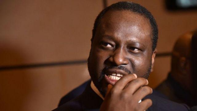 L'ancien Premier ministre ivoirien Guillaume Soro est sous le coup d'un mandat d'arrêt international.