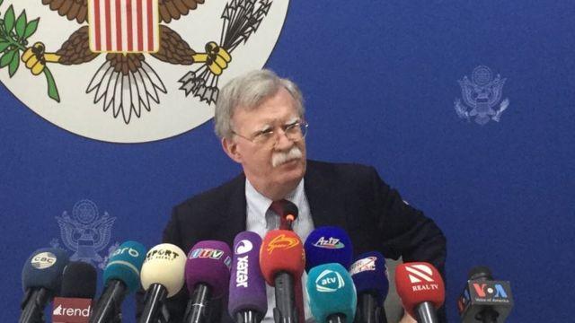 John Bolton Visits Caucasus Georgia Armenia Azerbaijan Russia