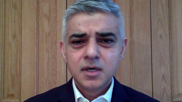 فيروس كورونا: عمدة لندن يصف تفشي الوباء في المدينة بأنه