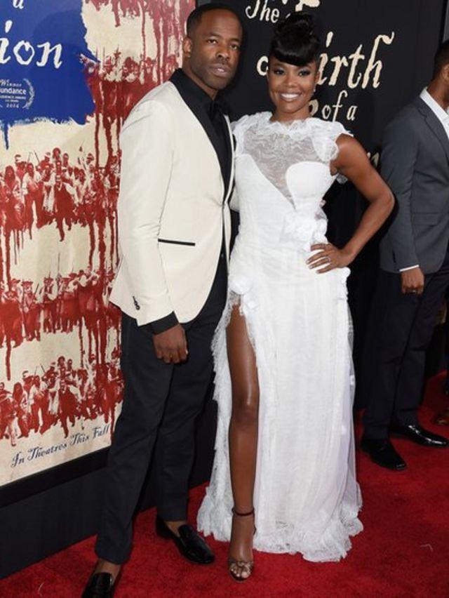 Nate Parker y Gabrielle Union