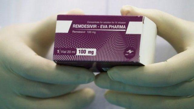 علبة من دواء ريمديسيفير