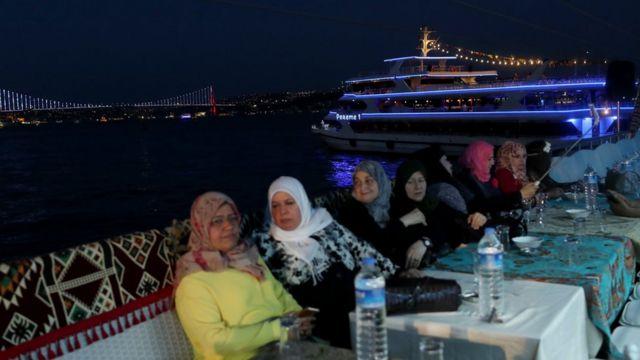 İstanbul'da Suudi turistler