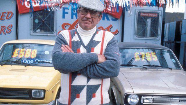 Mike Reid as car dealer Frank Butcher in EastEnders