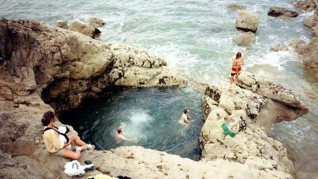 Blue Pool: Safety row at 'dangerous' Gower tourist spot