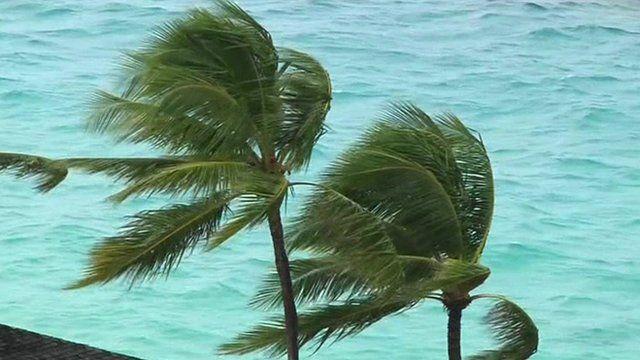 Nassau, in the Bahamas