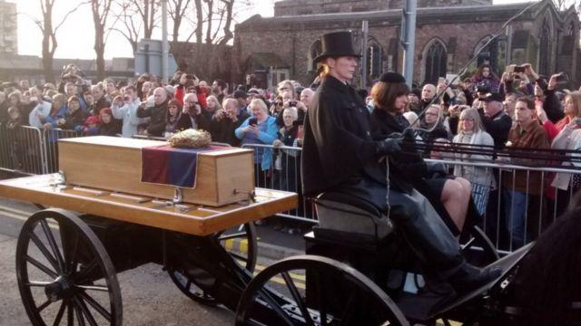 Перезахоронение найденных останков Ричарда III