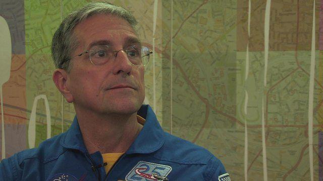 NASA astronaut Don Thomas talks about Tim Peake's space life