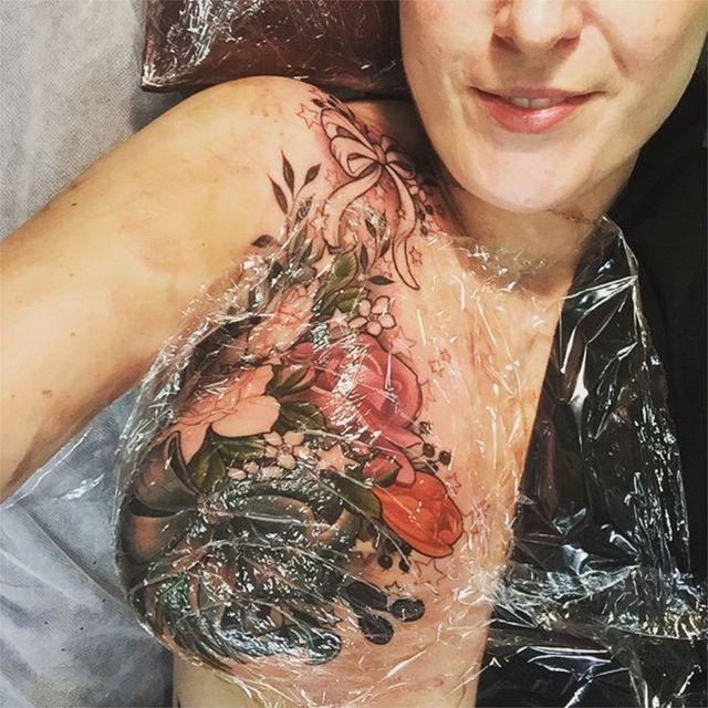 Tatuaje en desarrollo