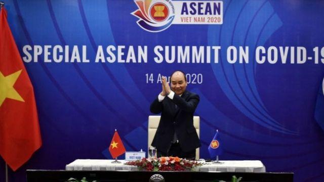 Thủ tướng Nguyễn Xuân Phúc dự một hội nghị Asean ngày 14/4