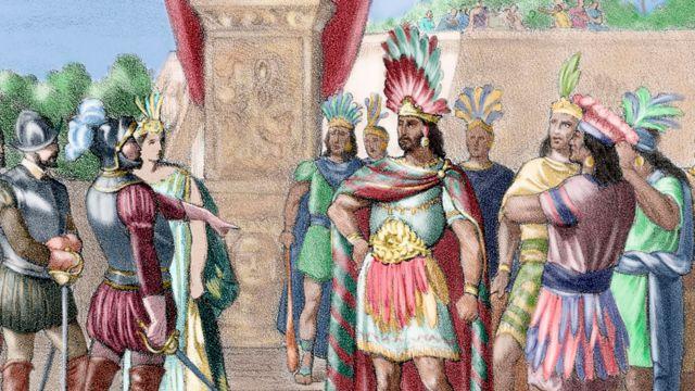 Encuentro Entre Moctezuma Y Cortés Los Descendientes Del Líder Azteca Que Viven En México Y España 500 Años Después Y La Curiosa Farsa De Los Moctezuma Catalanes Bbc News Mundo