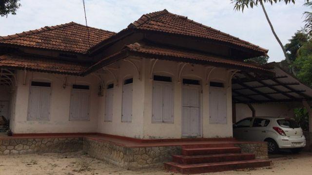 La casa construida en el sitio donde nació Nangeli