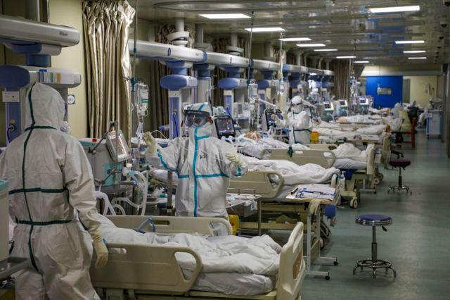 Pacientes en Wuhan