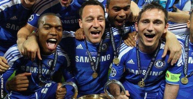 John Terry yari yakuwemwo mu rukino rwa nyuma rwa Champions League mu 2012