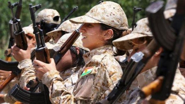 Mujeres peshmerga
