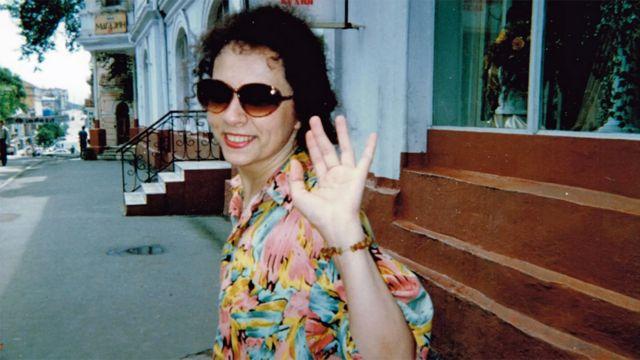 Елена во Владивостоке