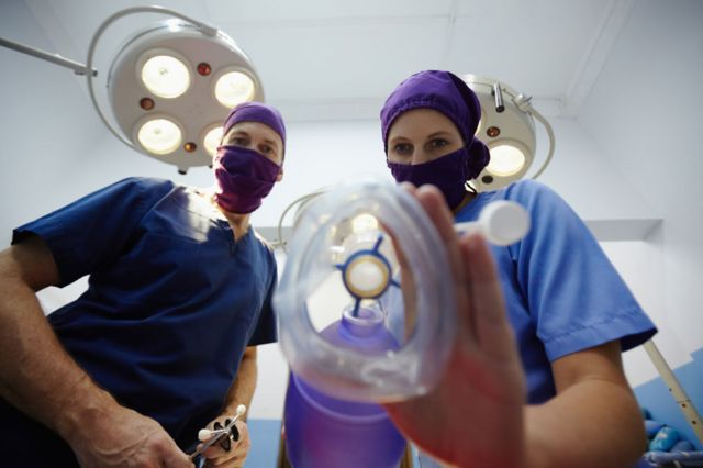 酸素マスク