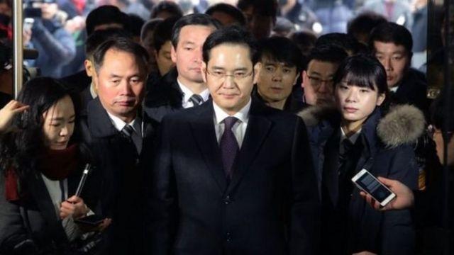 ژائه یونگ پسر مدیرعامل سابق