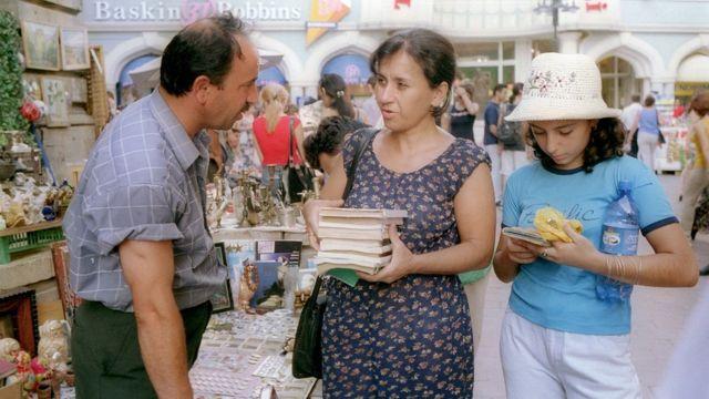 Книжный рынок в Баку