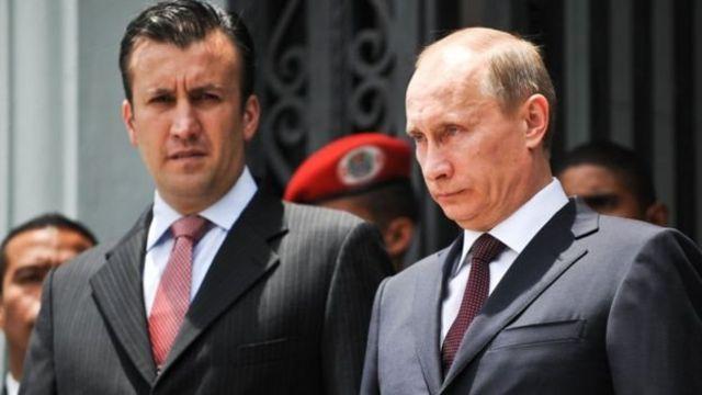 العيسمي مع الرئيس بوتين
