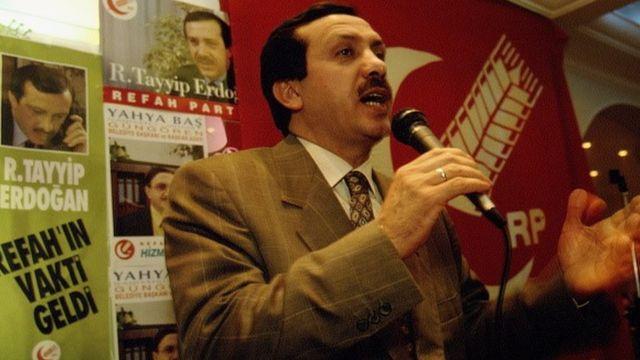 Erdoğan, 1994'te İstanbul Büyükşehir Belediye Başkanı seçilmişti