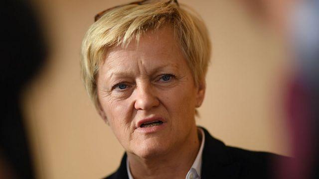 Diputada alemana Renate Kuenast