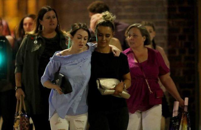 Testemunhas de explosão em Manchester