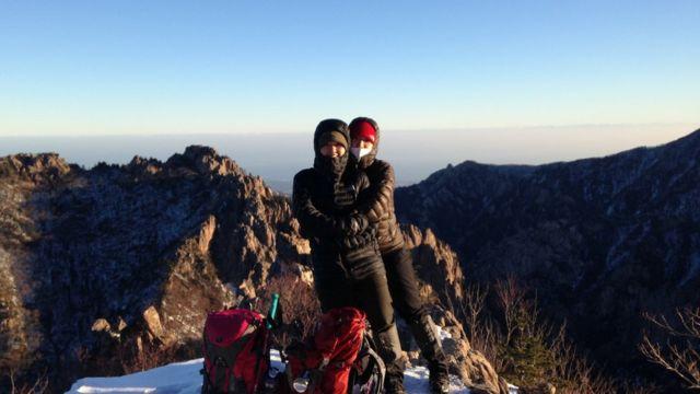 2016년 설악산에 찍은 사진