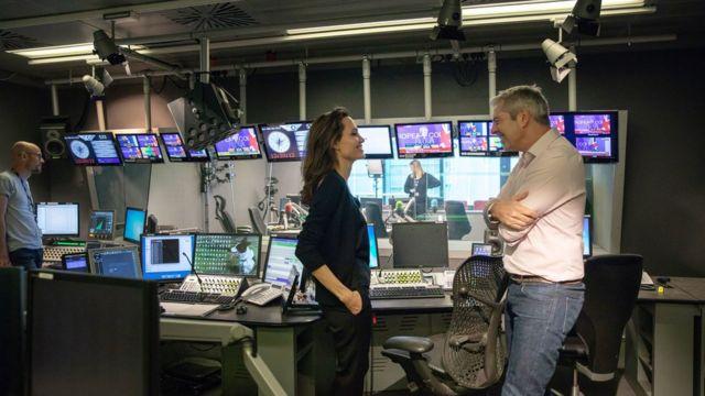 Anđelina Džoli i Džastin Vec, BBC, 2018.