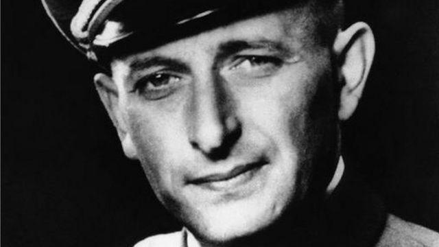 Нацистский преступник Адольф Эйхман