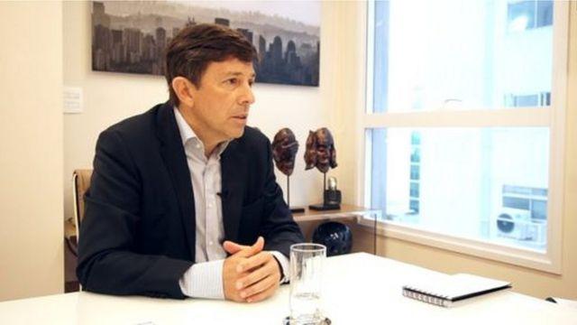 O pré-candidato à presidência João Amoêdo
