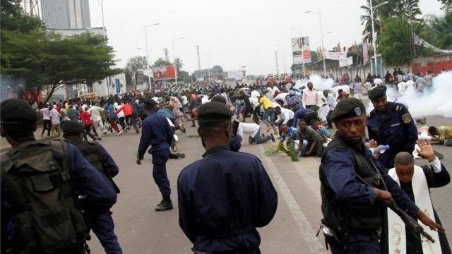 Maandamano ya upinzani DRC dhidi ya rais Joseph Kabila yalisababisha vifo vya makumi kadhaa ya watu