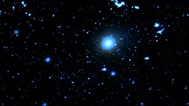 Black Shoals: Dark Matter - data from the stock market turned into a galaxy