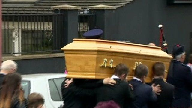 Adrian Ismay funeral