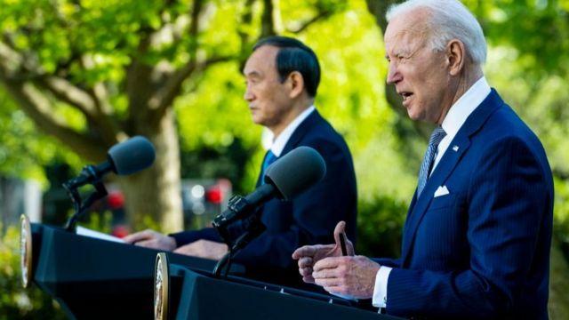 Tổng thống Biden họp báo với Thủ tướng Suga vào 16/4 sau khi hội đàm với nhà lãnh đạo nước ngoài đầu tiên tại Nhà Trắng kể từ khi ông nhậm chức.