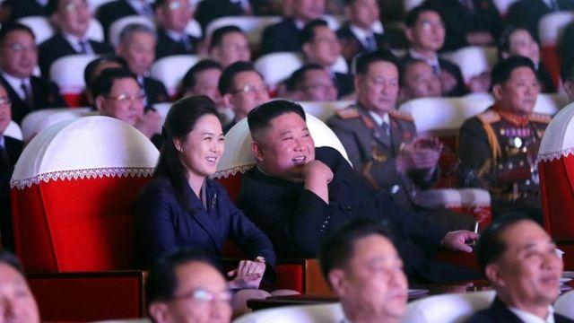 Ri Sol-ju ve Kim Jong-un