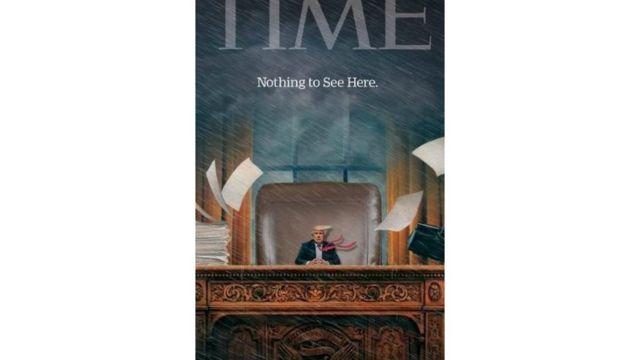 موج اخیر شوخی با ترامپ به طرح روی جلد مجله تایم هم رسید