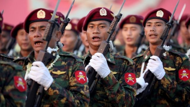 Myanmar soldiers (file picture)