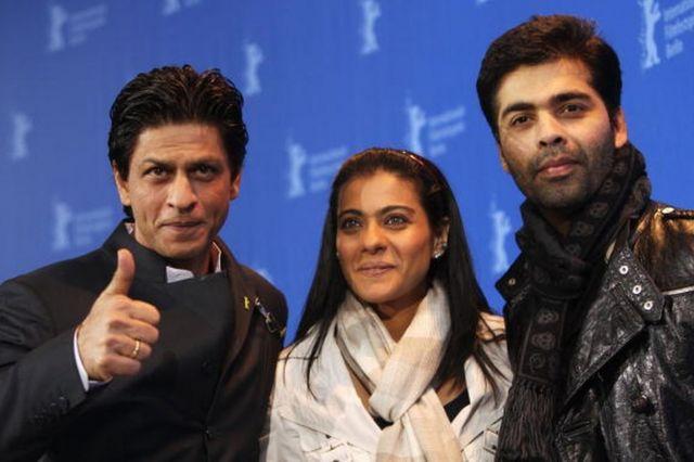 શાહરુખ ખાન, કાજોલ અને કરન જોહર