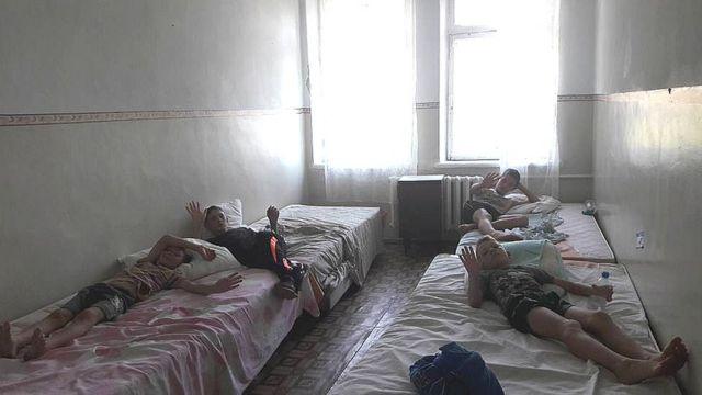 Діти в санаторії