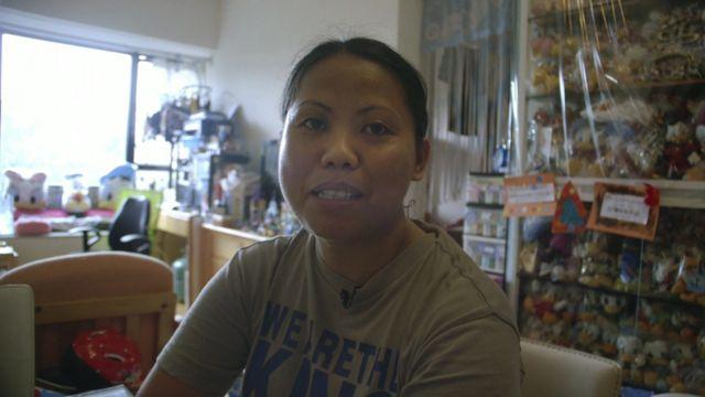 Marites B Samson, Filipina live-in nanny