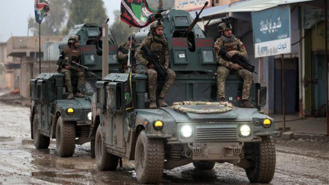 İraq qüvvələri şərqi Mosulda, 28 dekabr 2016