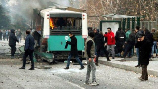 قال مسؤول حكومي إن انفجار قيصري مشابه لتفجير إسطنبول