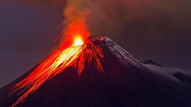 自然,科学,火山,意大利,星球,旅行