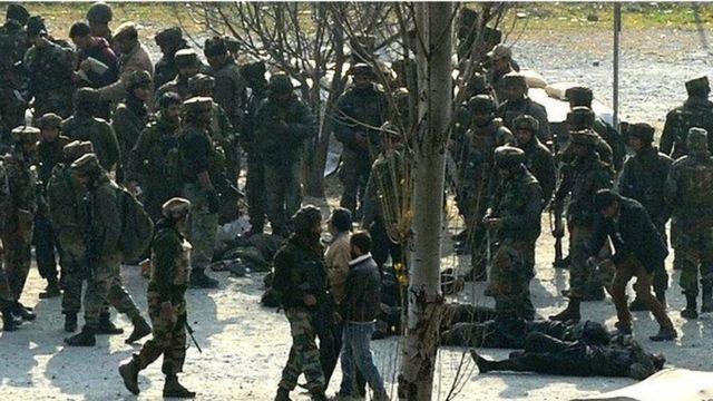 उड़ी में सैनिक कैंप पर हमले में मारे गए सैनिक