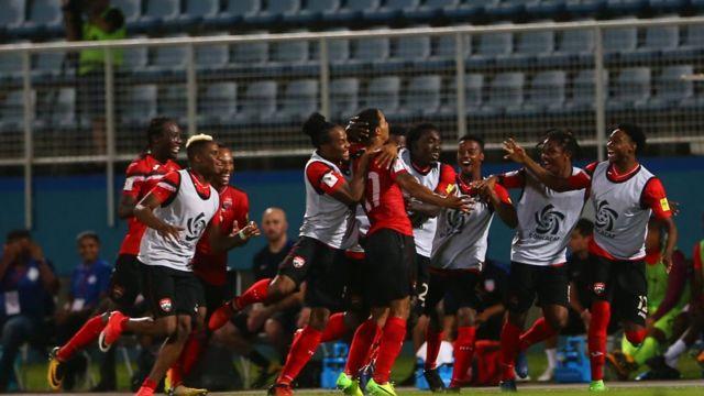 La selección de Trinidad y Tobago