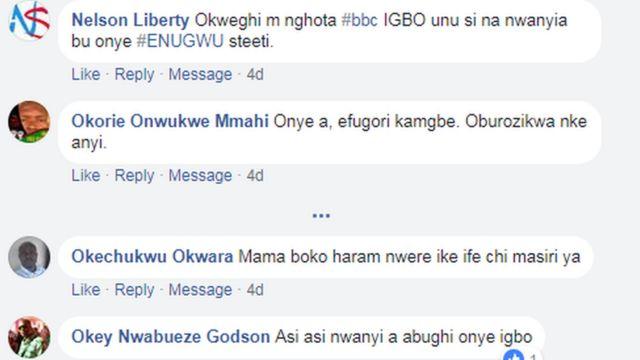Igwe okwu Facebook
