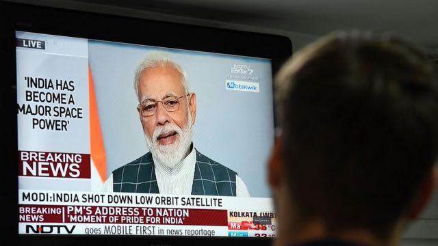 นายกฯ อินเดียกล่าวกับประชาชน หลังจากการทดสอบขีปนาวุธทำลายดาวเทียม