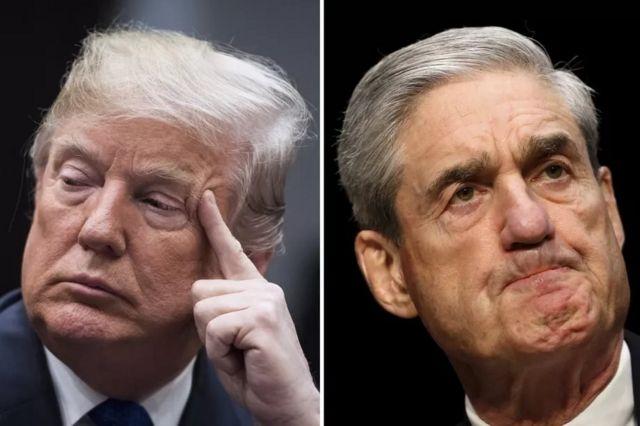 Donald Trump ve Robert Mueller