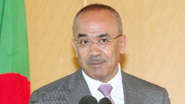 Noureddine Bedoui, le ministre algérien de l'Intérieur